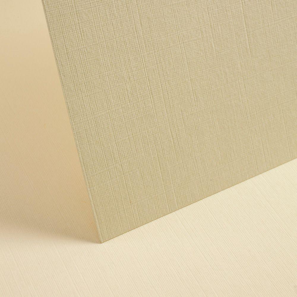 A4 Rich Cream Linen Card - 255gsm