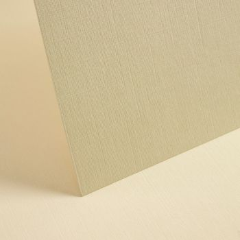 A4 Textured Rich Cream Linen Card - 255gsm