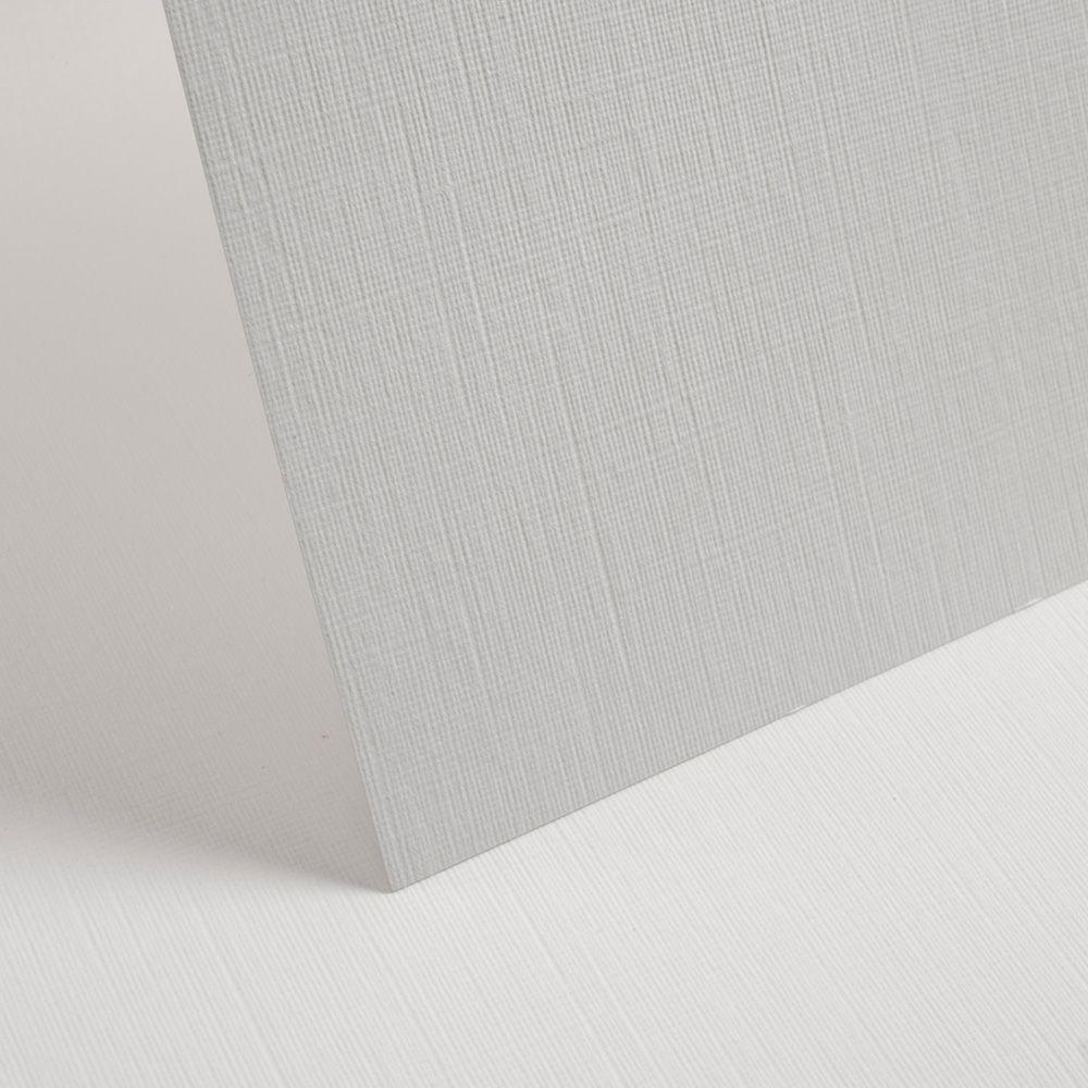 A4 Textured White Linen Card - 255gsm