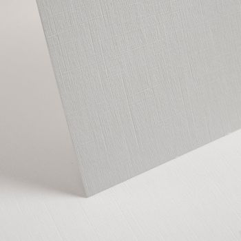 A4 Textured White Linen Card - 255gsm