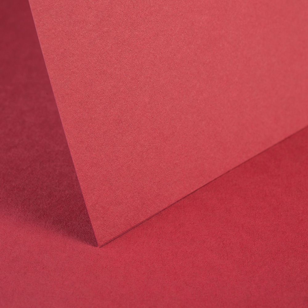A4 Card Ruby Red - 240gsm
