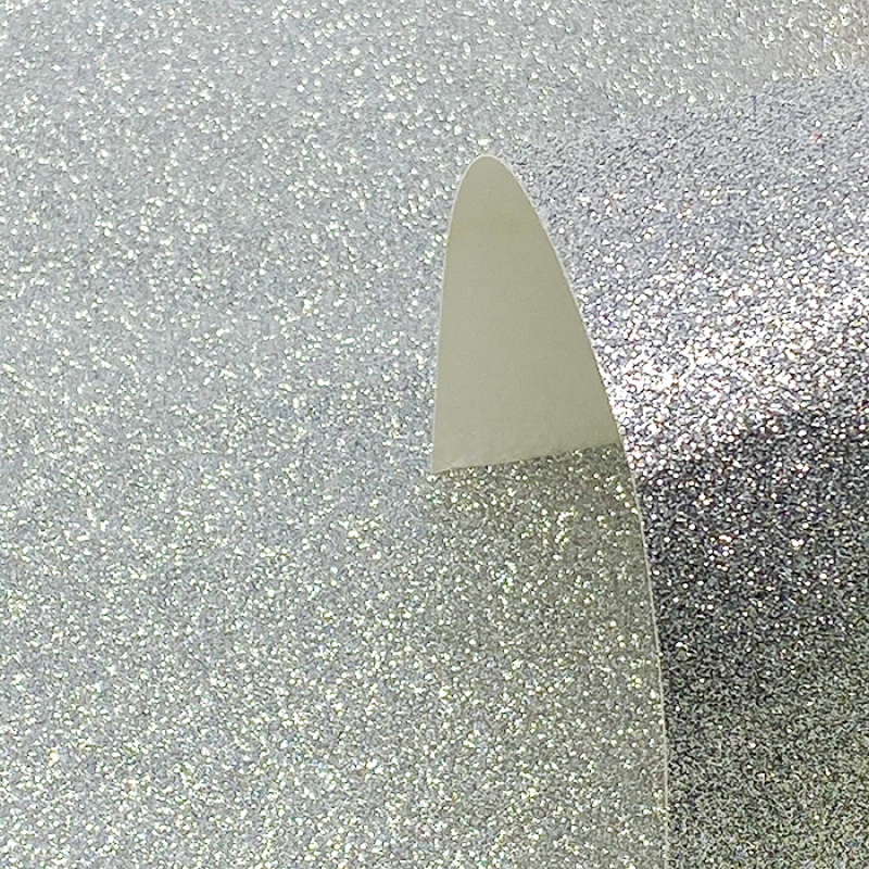 A4 Silver Glitter Card - Low Shed 220GSM