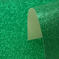 A4 Green Glitter Card - Low Shed 220GSM