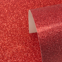 A4 Red Glitter Card - Low Shed 220GSM