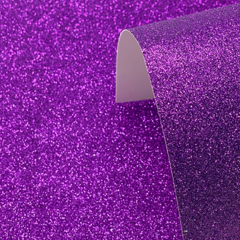 A4 Purple Glitter Card - Low Shed 220GSM