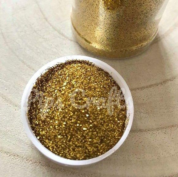 Sparkly Fine Multi Purpose Glitter 50g - Gold
