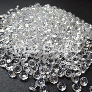 500+ Acrylic Scatter Crystals - 6mm
