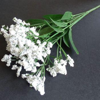 Beautiful Artificial Gypsophila Flowers  - White