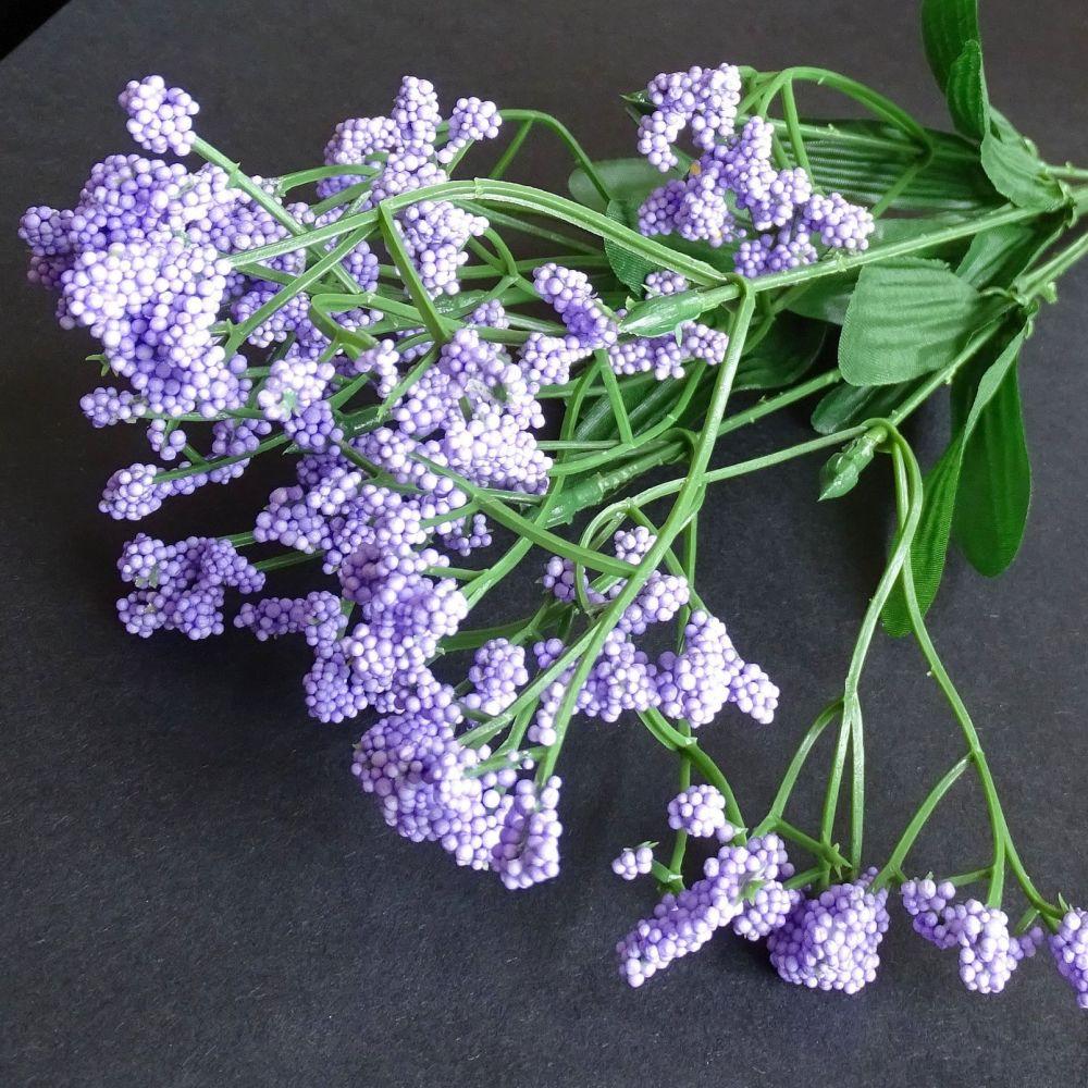 Beautiful Artificial Gypsophila Flowers  - Lilac