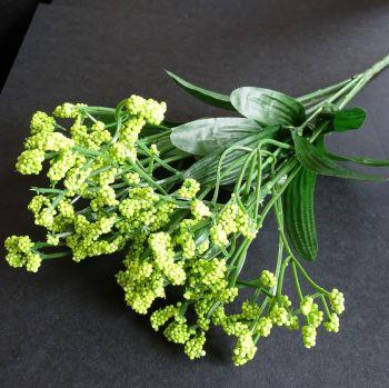 Beautiful Artificial Gypsophila Flowers  - Green