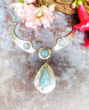 Blue Opal Necklet