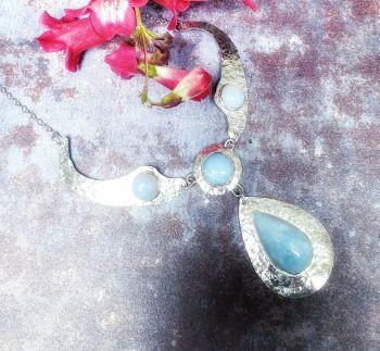 Blue Opal Necklet