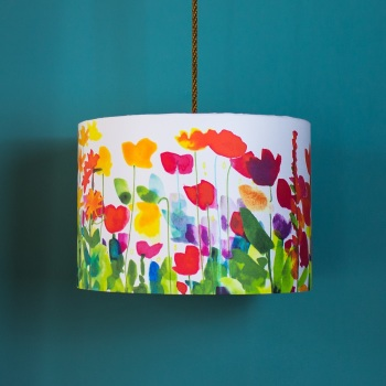 Flora fabric for DIY Lampshade