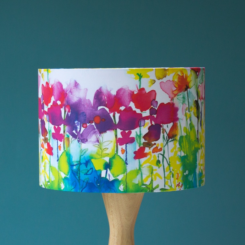 Butterflies Watercolour Lampshade