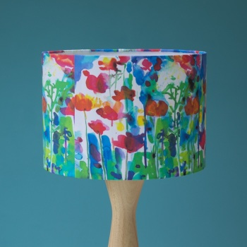 Colour Bright  Watercolour Lampshade