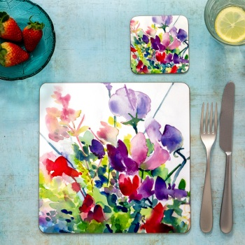 Sweetpeas Placemat