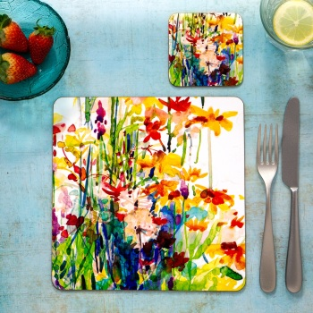 Flowerbed Placemat