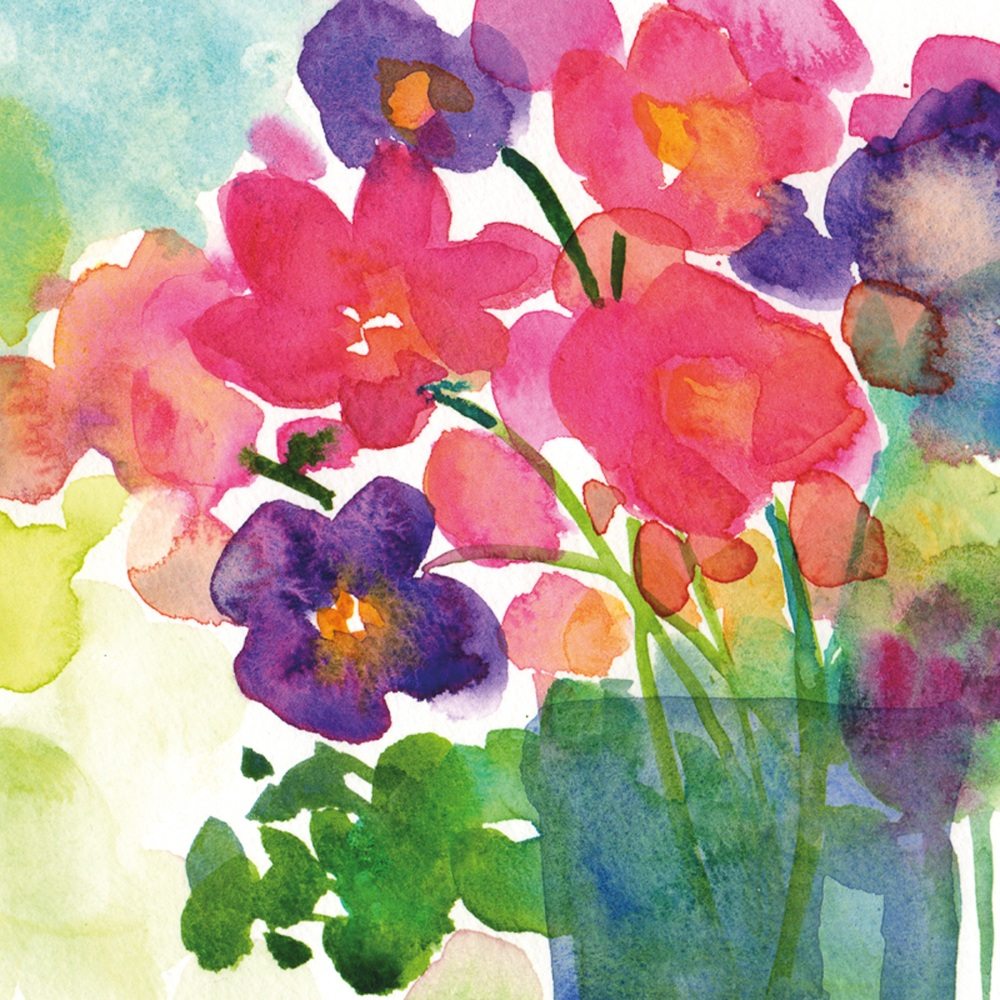 Anemones Greetings Card