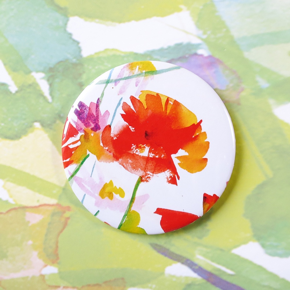 Poppy Pocket Mirror