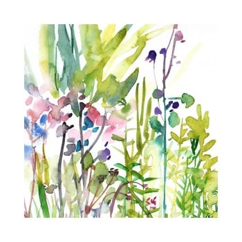 May Garden signed Print