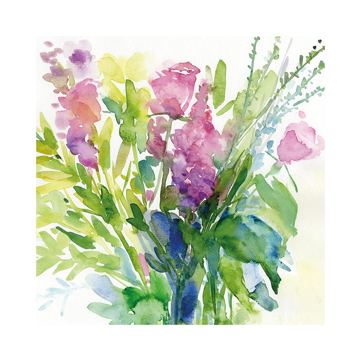 Summer Bouquet signed Print