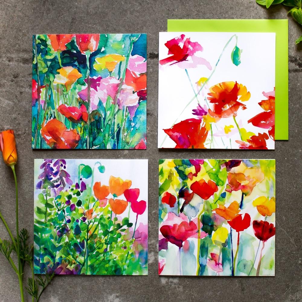 Poppy Garden Card collection