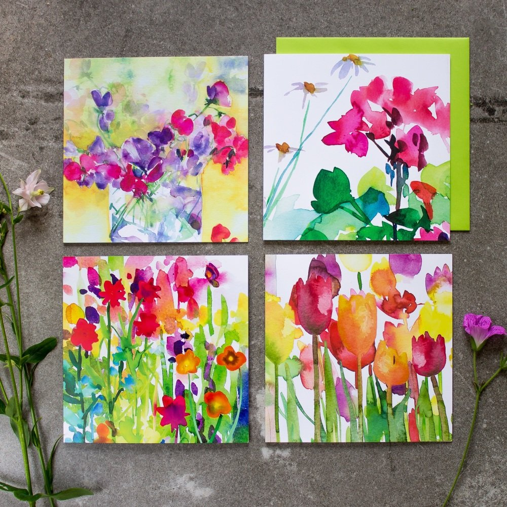 Sweet Pea Card collection