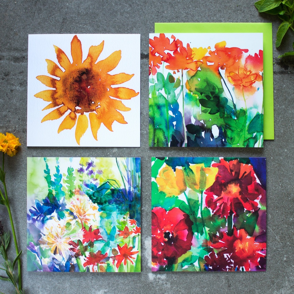 Sunflower Card collection