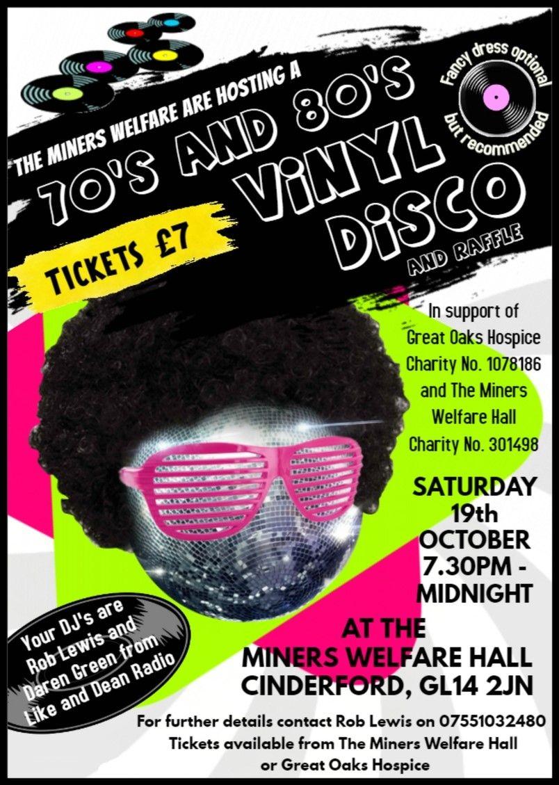 70's and 80's Vinyl Disco