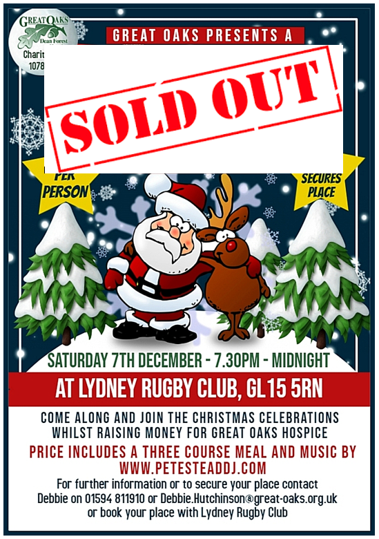 Lydney Christmas Party SOLD OUT