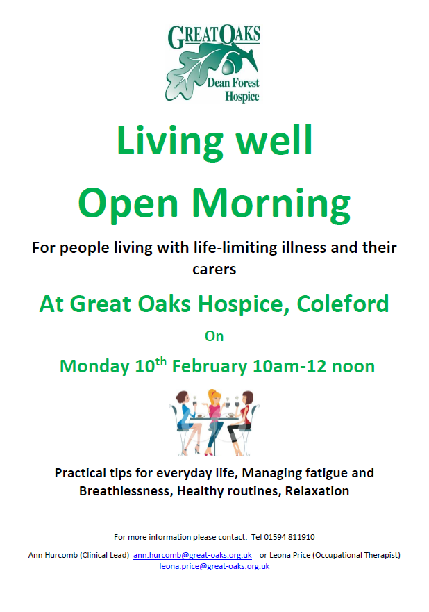 Living Well Open Morning