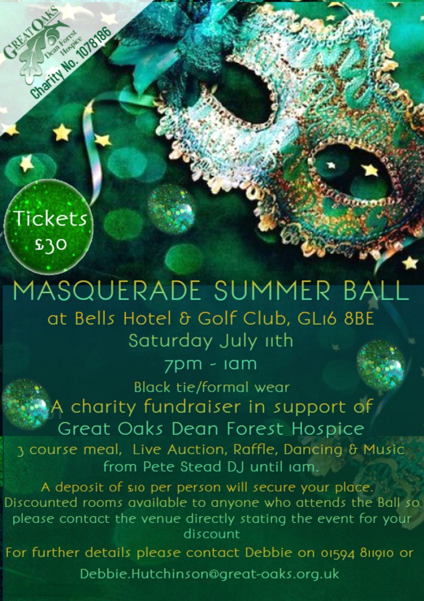 Masquerade Summer Ball