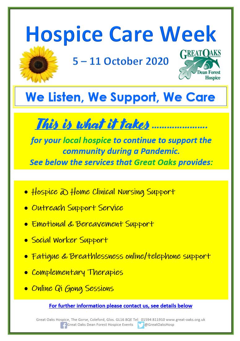 Hospice Care Week