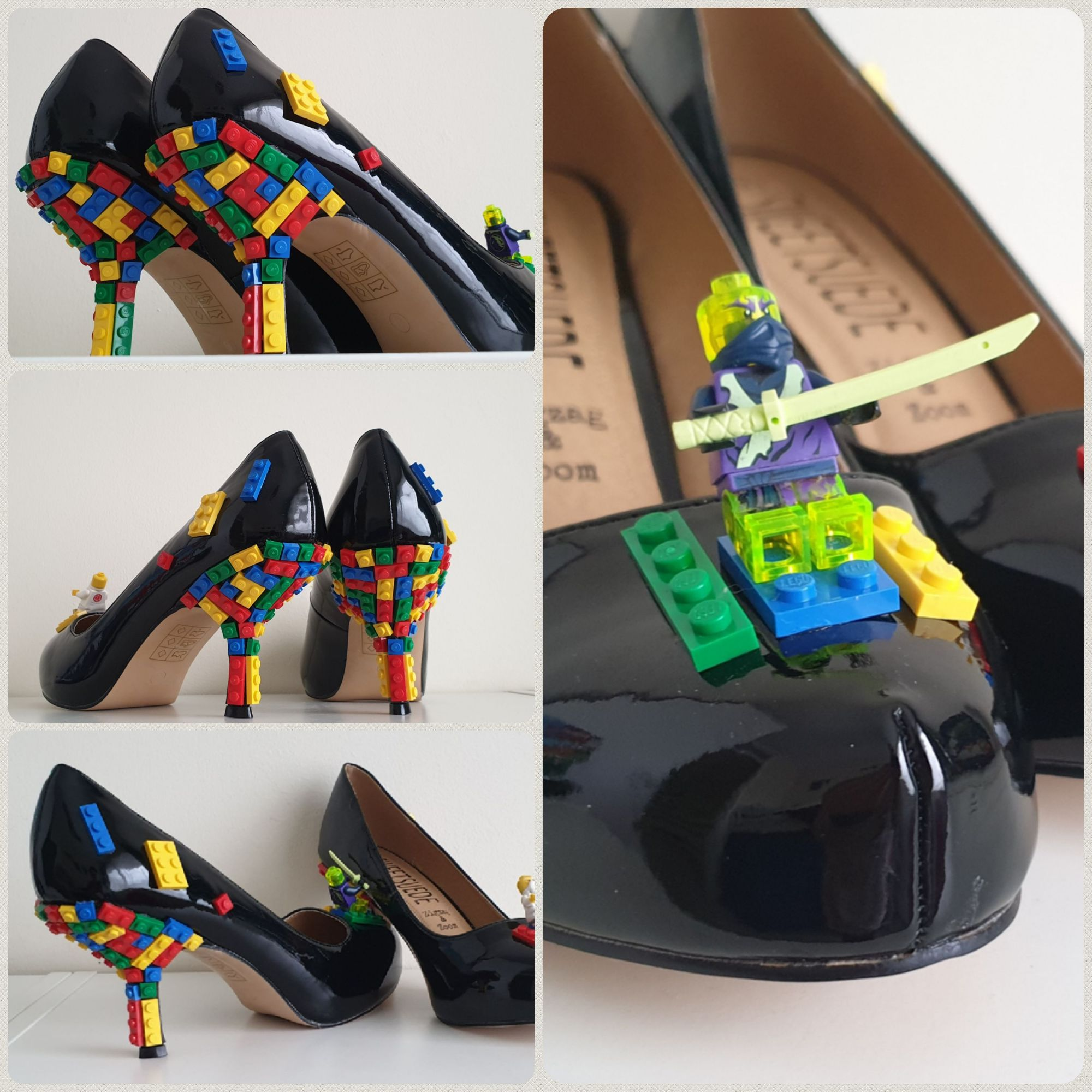 Customised Lego shoes