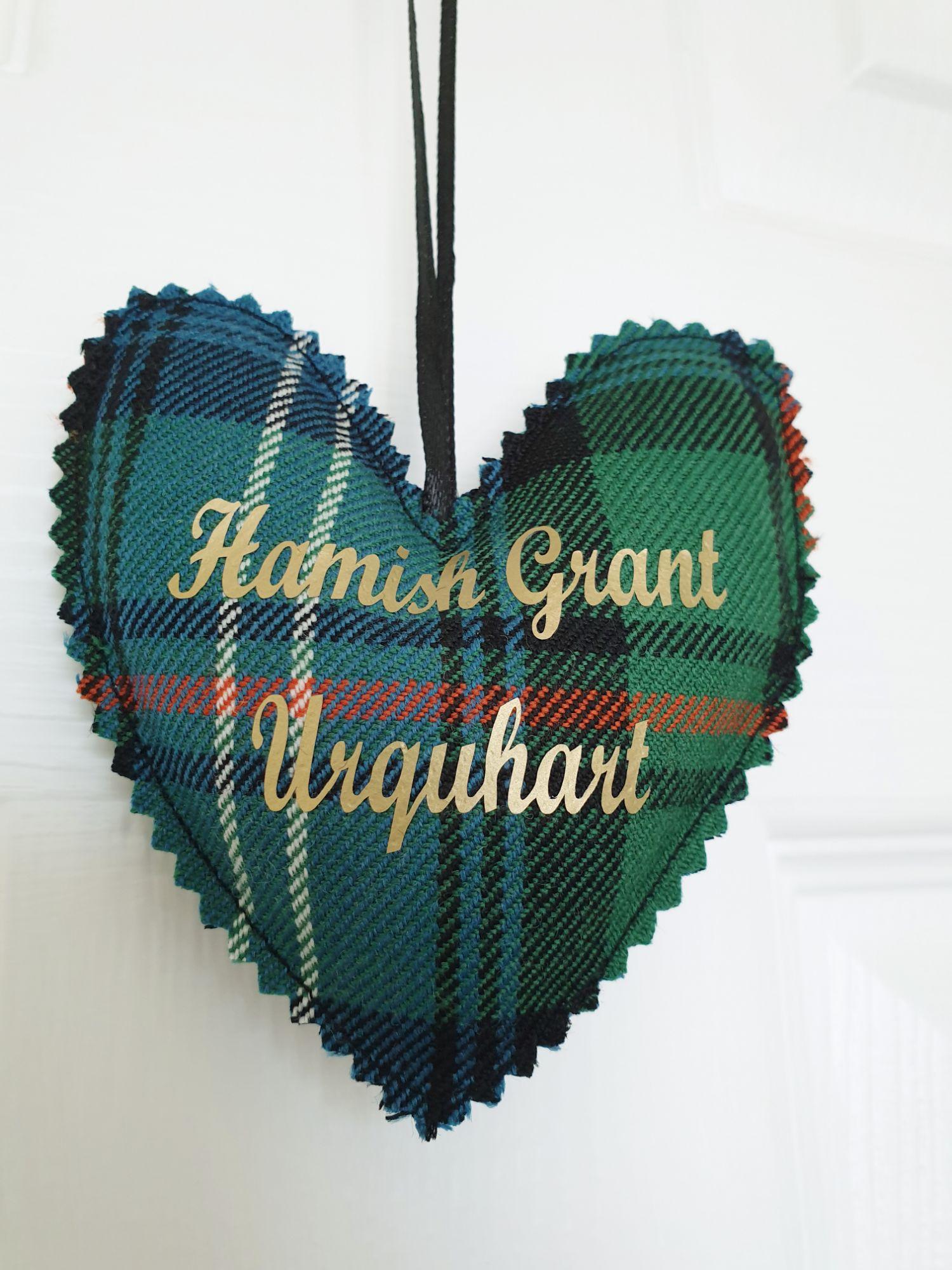 Urquhart tartan gift idea