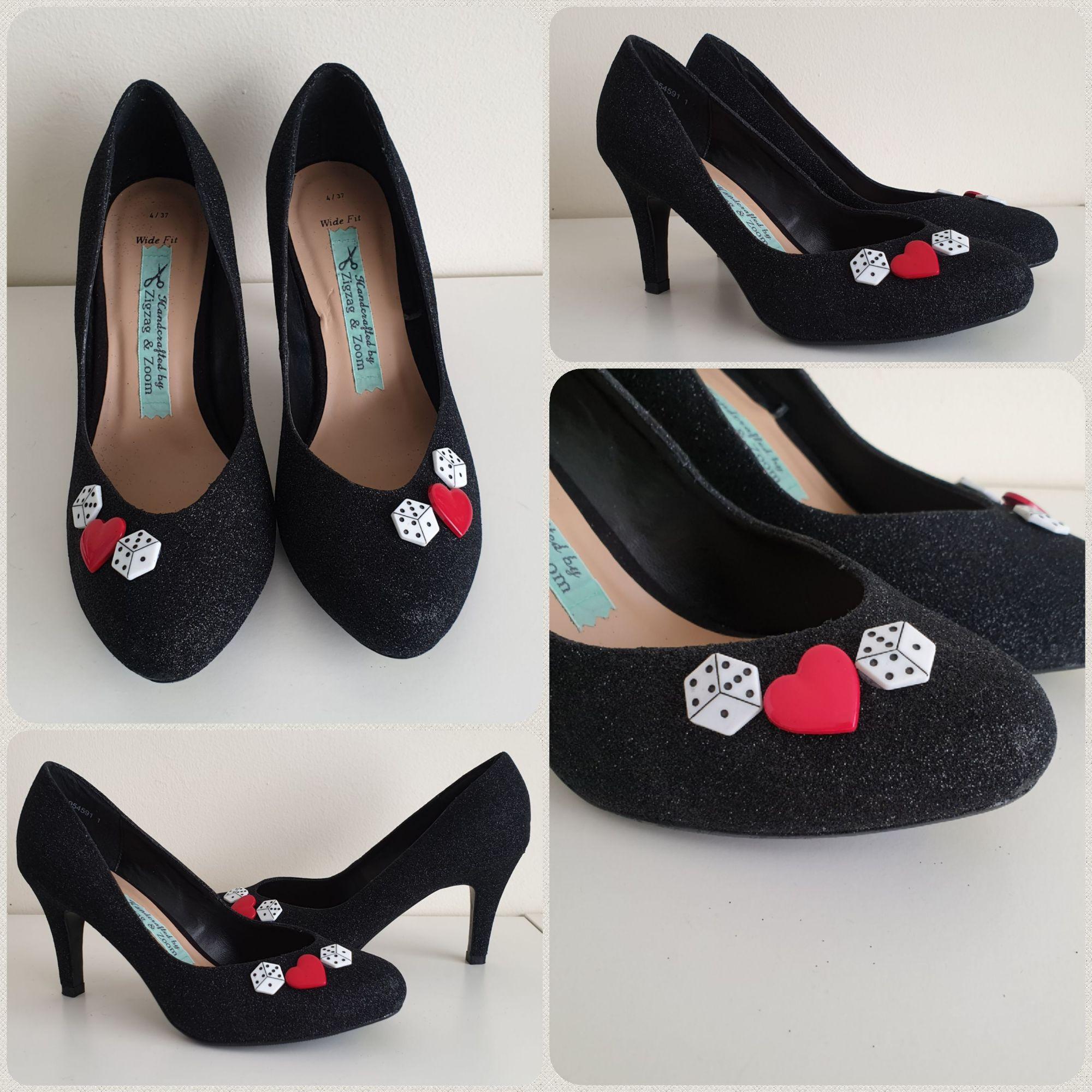 Lucky in Love custom heels