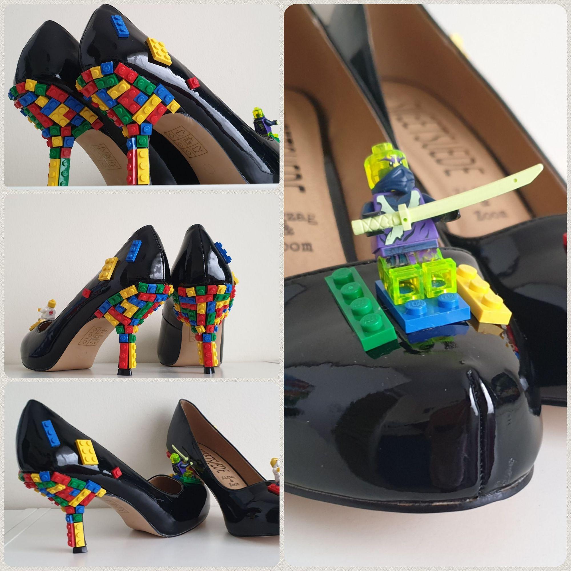 Custom Lego heels