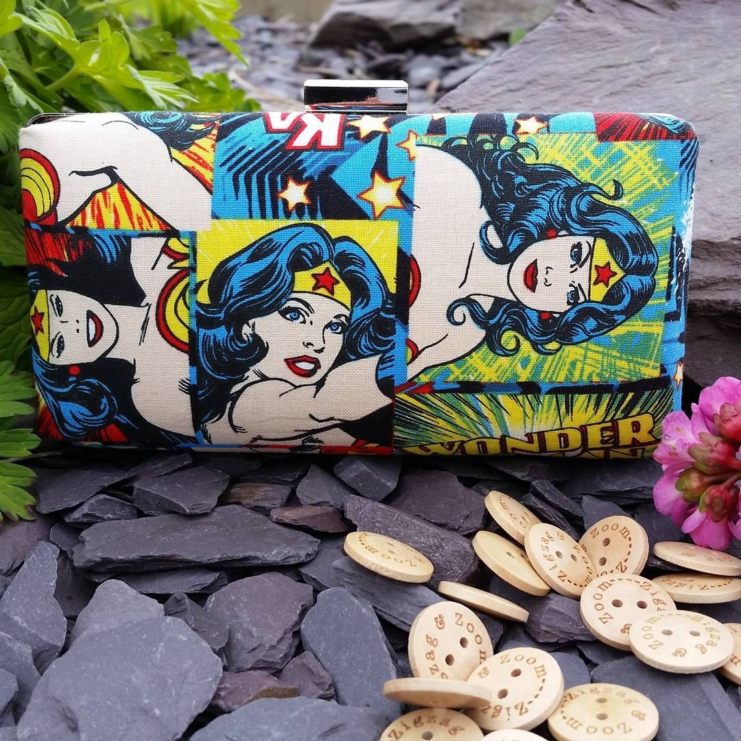 Superwoman clutch bag