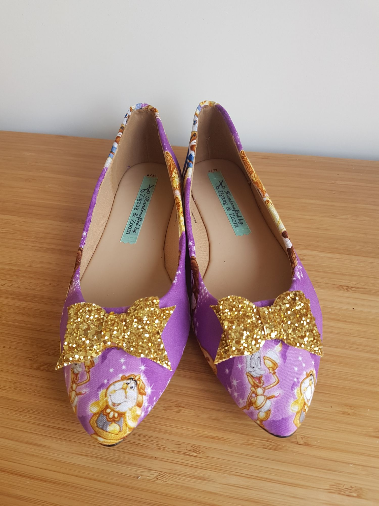 Beauty and the beast flats