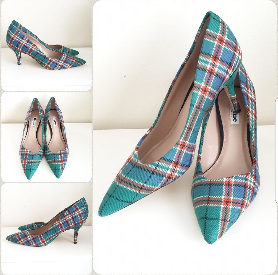 Anderson tartan shoes