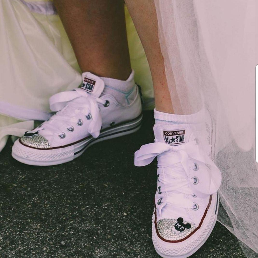 Disney wedding converse