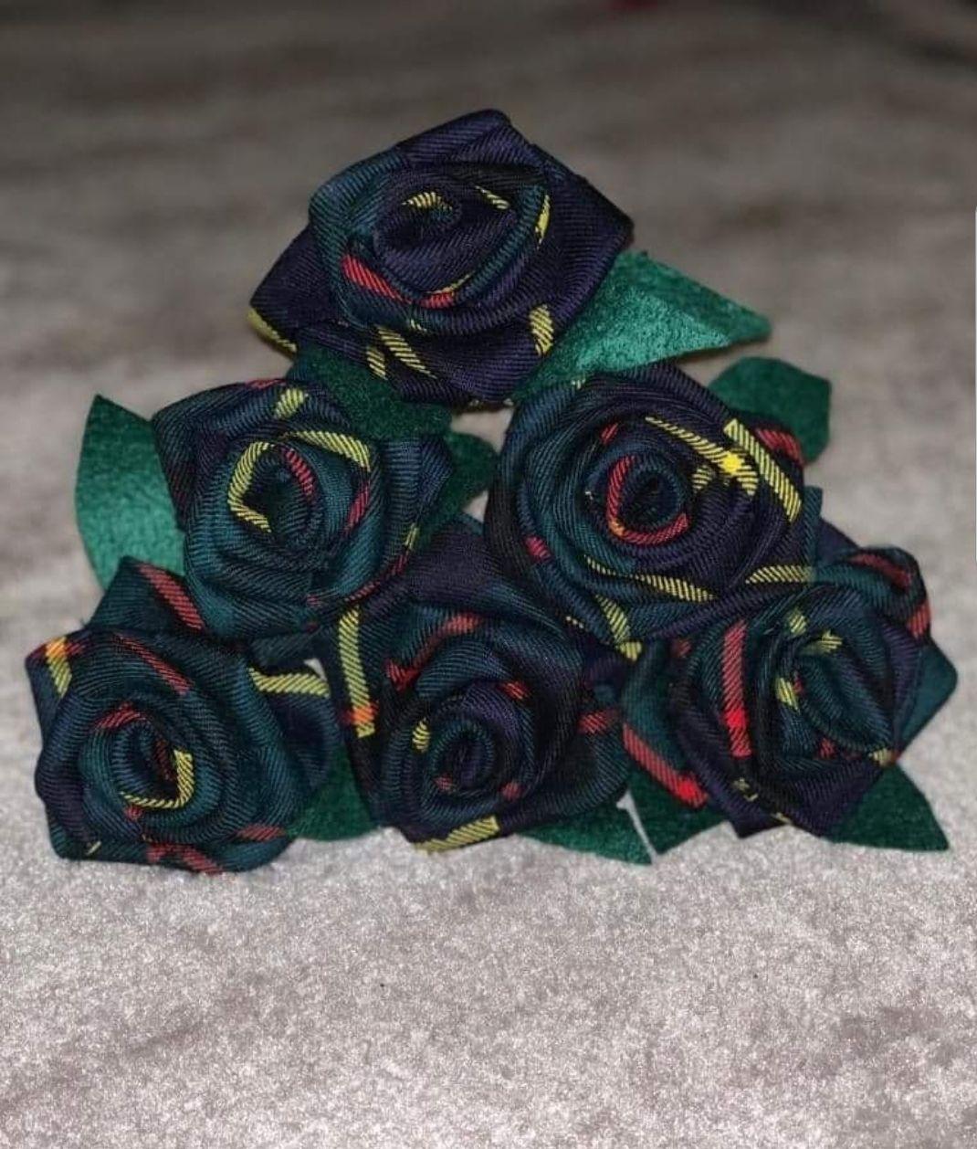 Tartan bouquet