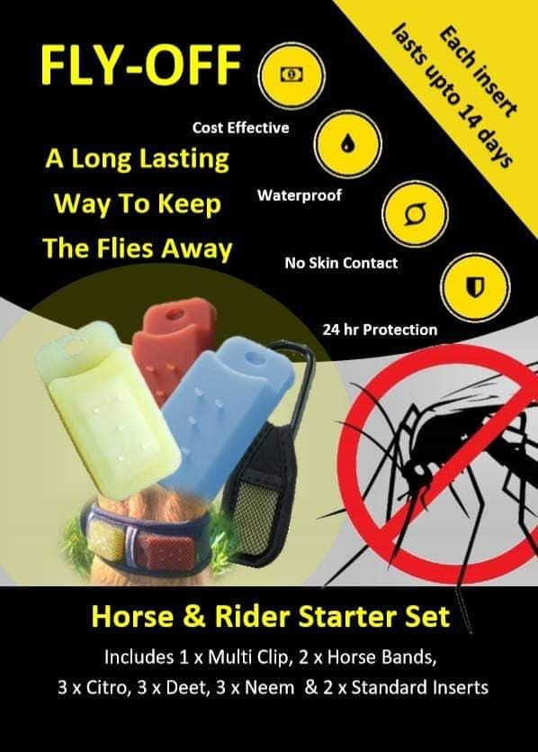Australia 5 packs of FLY-OFF Horse & Rider Sets and 5 Bumper Refill packs p