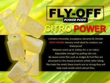 Bumper CITRO POWER POD REFILL 8 PACK - PREORDER 2ND JULY