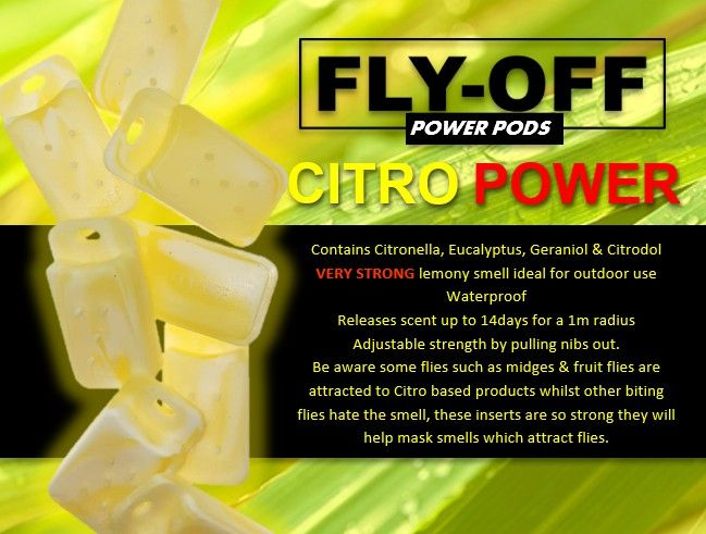 CITRO POWER POD REFILL PACKS - PREORDER 2ND JULY