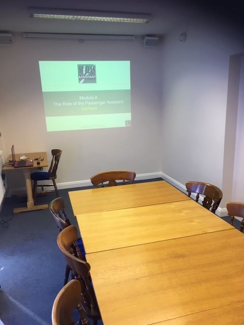Our Training room Northampton