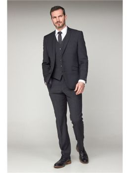 Scott by The Label Charcoal Contemporary Fit Suit Jacket (matching  waistcoat and trousers also available) Not available to buy online - please contac