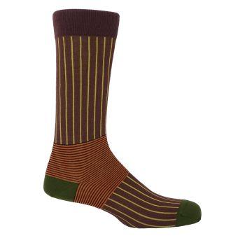 Oxford Stripe Brown