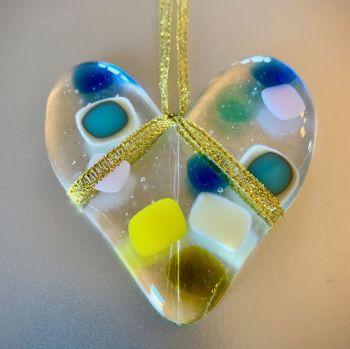 Tutti-Frutti Blue Heart