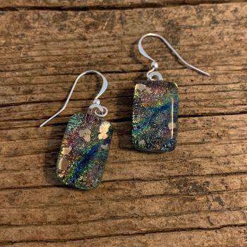 """""""Aerial Gold"""" earrings -"""